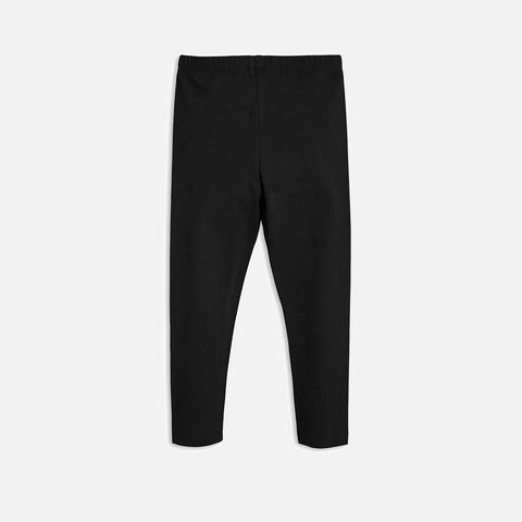 Organic Basic leggings - Black - 0m-7y