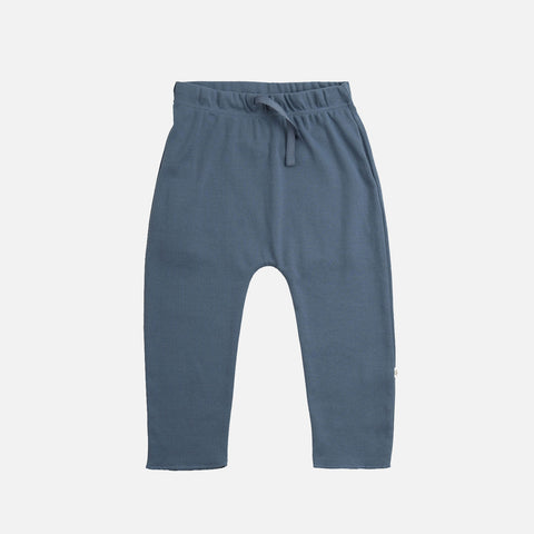 Organic Cotton Nordic Pants - Steel Blue