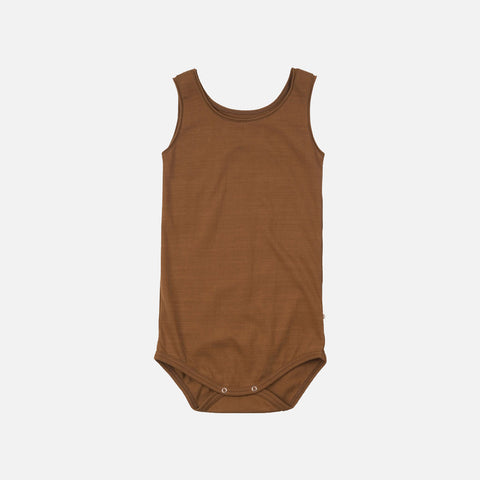 Organic Cotton Sleeveless Napoli Body - Amber