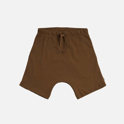 Organic Cotton Seamless Norse Shorts - Amber