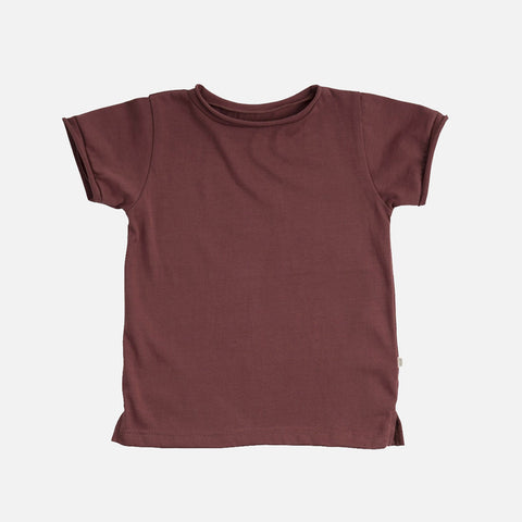 Organic Cotton SS Storm Tee - Vintage Rose