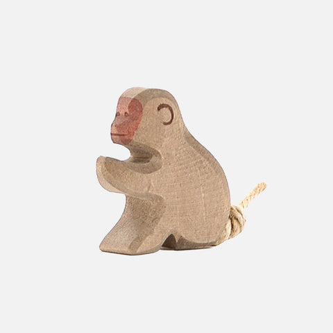 Handcrafted Baboon Sitting