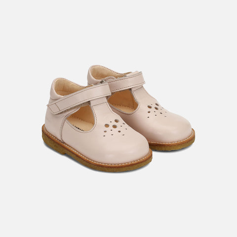 T-Bar Toddler Shoes - Powder - 20 (UK 4) - 25 (UK 8)
