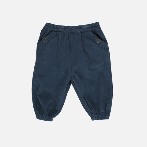 Organic Corduroy Pants - Orion Blue - 6m-2y