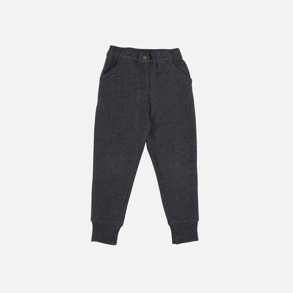 Organic Cotton Sweat Pants - Granite - 2-9y