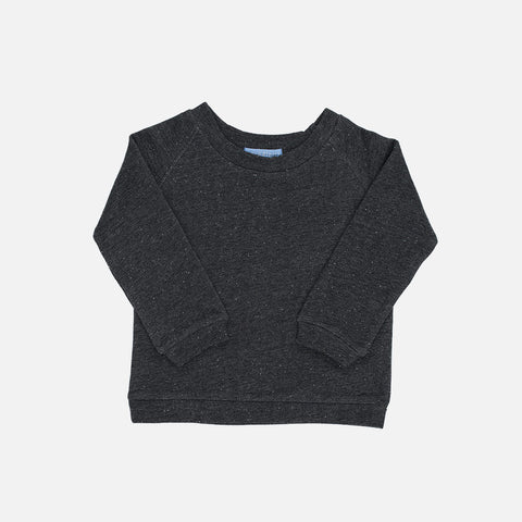 Organic Cotton Sweat Shirt - Granite - 2-9y