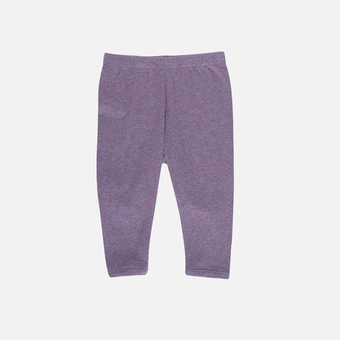 Organic Cotton Baby Rib Leggings - Opal - 0m-2y