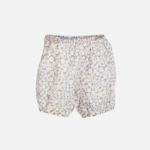 Organic Cotton Light Woven Baby Shorts - Daisys - 0m-2y