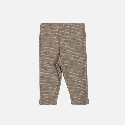 Merino Wool Leggings - Walnut - 0m-6y