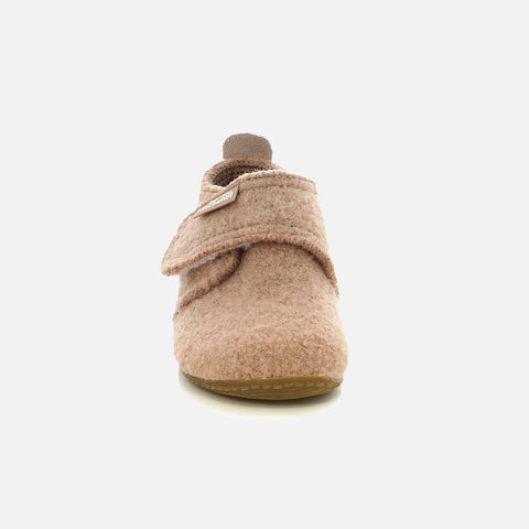 Wool Slipper Shoe - Woodrose