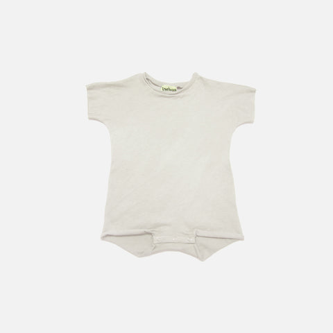Organic Cotton SS Alno Body - Dusty Grey - 3m