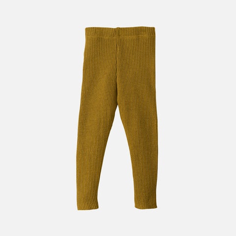 Organic Merino Wool Leggings/Trousers - Gold