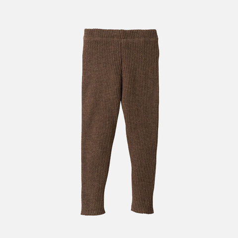 Wool rib leggings/trousers 0-6m & 3-5y