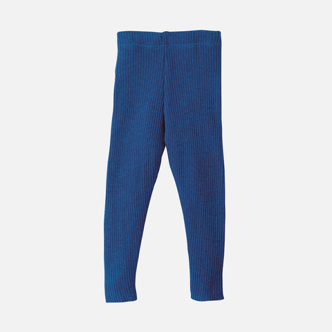 Organic Merino Leggings/Trousers - Navy - 0-10y
