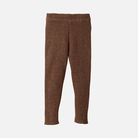 Organic Merino Leggings/Trousers - Hazelnut - 0m-10y
