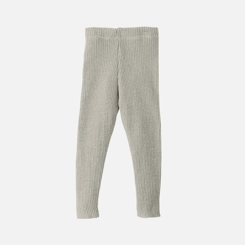 Organic Merino Leggings/Trousers - Grey - 0m-9y