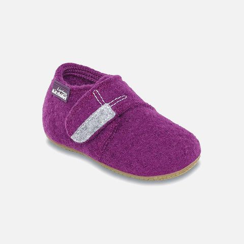 Wool Slipper Shoe - Petunie - 20-26