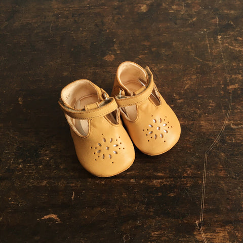 Eco Leather Little Shoes Lily - Natural - 17-23