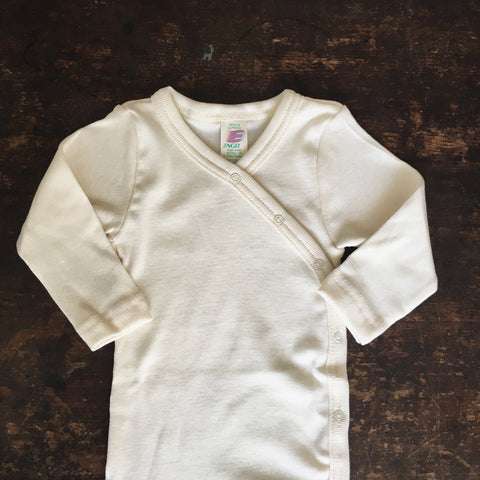Organic Cotton Body Wrap - Natural - 0-6m