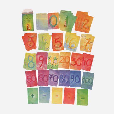 Nature Inspired Number Recognition Card Set