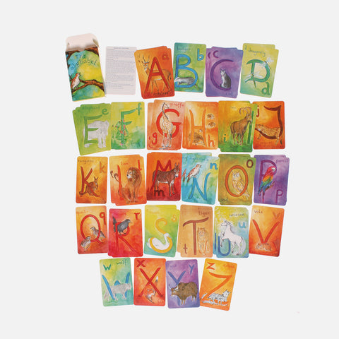 Nature Inspired Alphabet Recognition Card Set