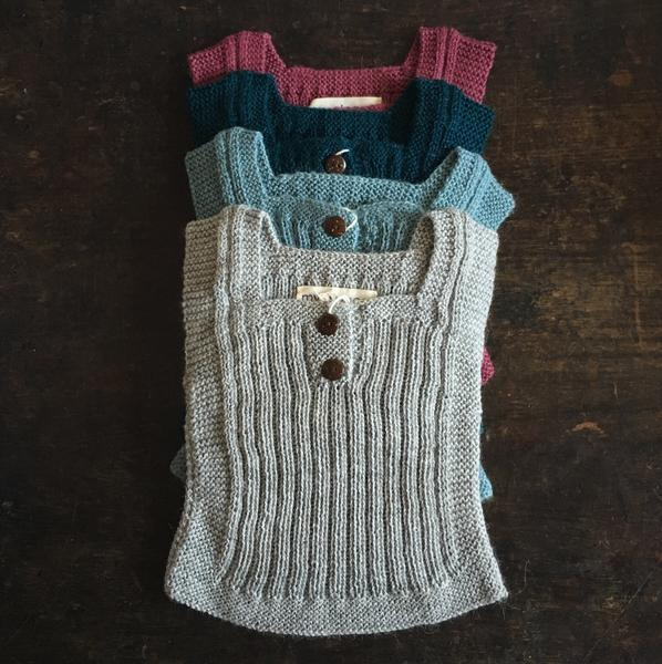 Beautiful Alpaca Rib vest / Body Warmer - Brown