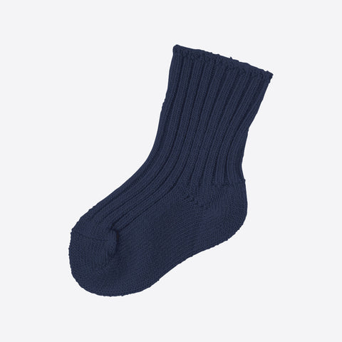Adult Merino Wool Socks - Grey and Navy