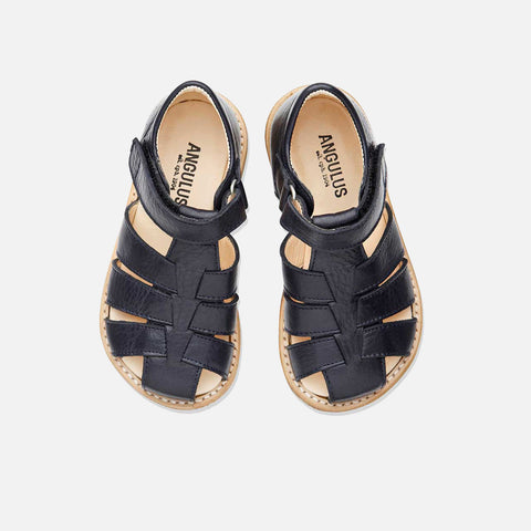 Fisherman Kids Sandals - Navy - 26 (UK 8.5) - 33 (UK 1)