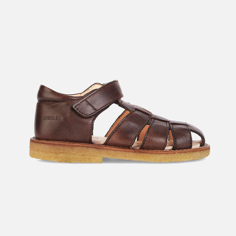 Fisherman Kids Sandals - Brown - 26 (UK8.5)- 36 (UK3)