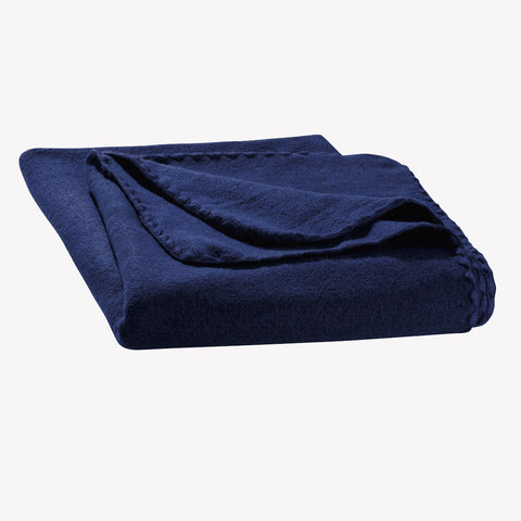 Boiled wool kids blanket - Navy, Grey or Anthracite