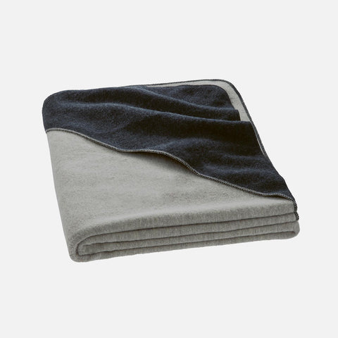 Organic Boiled Merino Kids Blanket - Grey