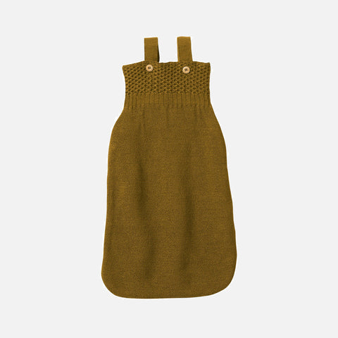 Knitted Organic Merino Wool Sleeping Bag - Gold