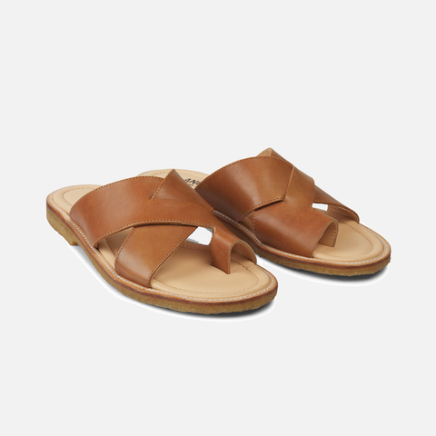 Women's Slide Sandal  - Tan - 37-41 (UK 4.5-8)