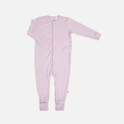 Merino Wool Pyjamas - Rose - 0m-3y