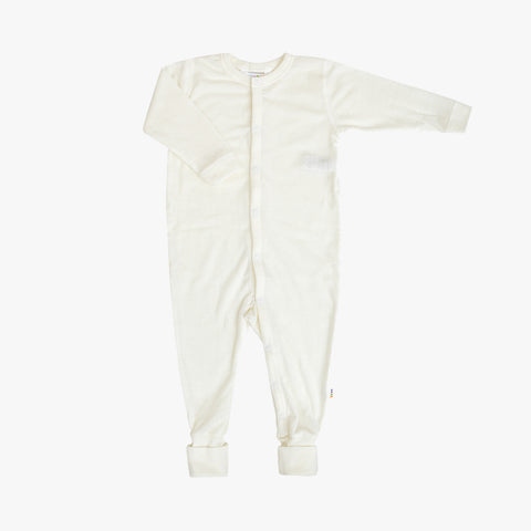 Merino Wool Pyjamas - Natural - Premature & 0m-3y