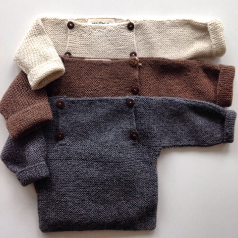 Beautiful Alpaca Sweater - Brown