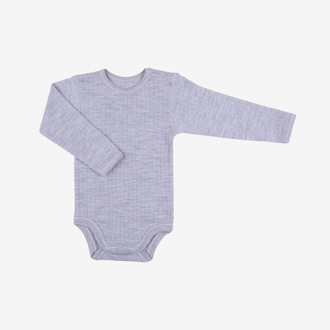 Merino wool body Grey 0m-3y