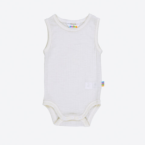 Merino wool sleeveless body 1m-3y