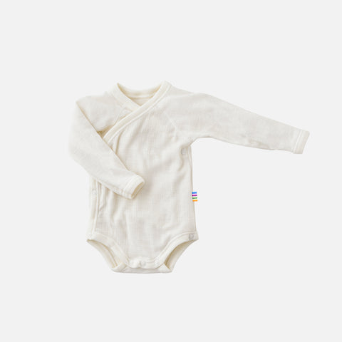 Merino Wool Wrap Body - Natural