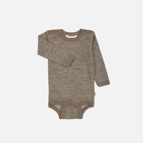 Fine Merino Wool body - Walnut - 0m-2y