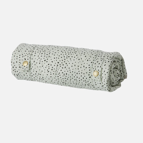 Organic Cotton Changing Mat - Mint Dot