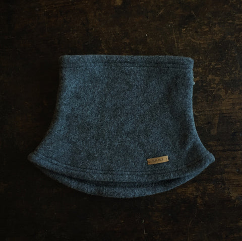 Merino Fleece Neck Warmer - Slate