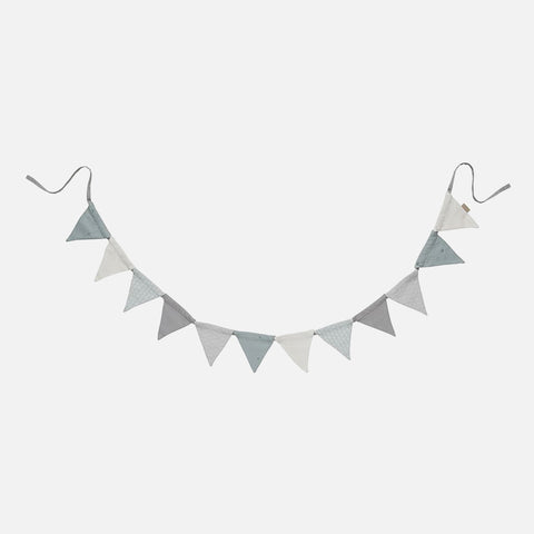 Organic Cotton Bunting - Mint Mix