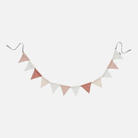 Organic Cotton Bunting - Blush Mix