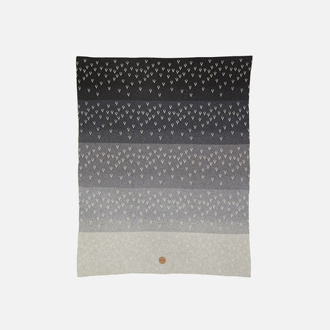 Organic Cotton Little Gardi Blanket - Grey Tones