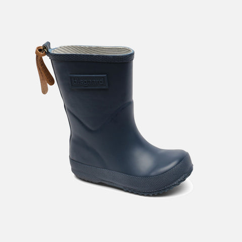 Natural Rubber Boots - Navy - 20 (UK 4) - 33 (UK 1)