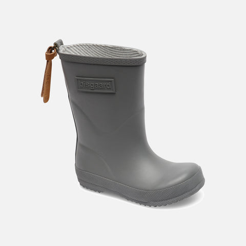 Natural Rubber Boots - Grey
