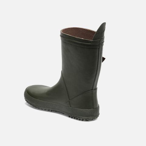 Natural Rubber Slim Boots - Green - 27 (UK 9) - 35 (UK 2.5)