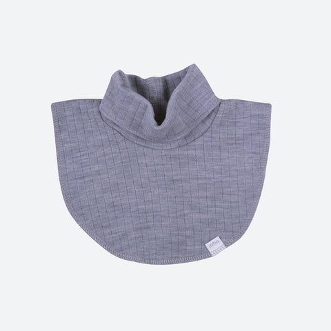 Merino Wool Poloneck - Grey or Navy - 1-6 years