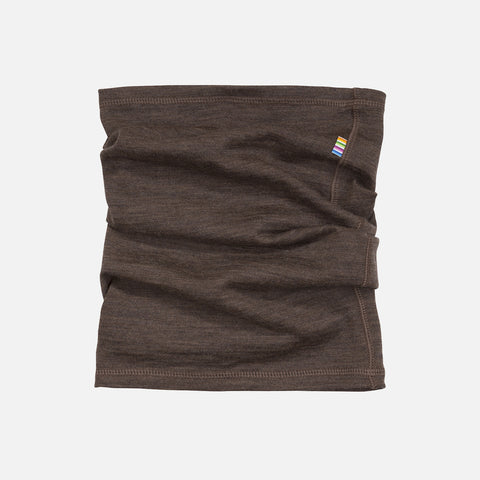 Merino/Silk Snood - Cocoa - 1-14 years